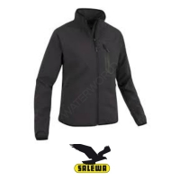 Salewa Damen Softshell Jacke City, - schwarz