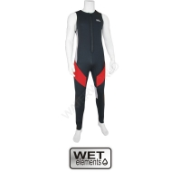 WET-Elements Neo Long John Rodeo Superstretch - rot - l...