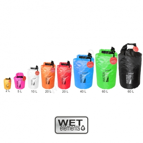 WET-Elements Dry Bag Light One - 10 L Volumen - red