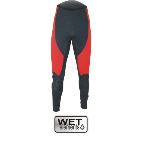 WET-Elements Neoprenhose Rodeo Long - rot/schwarz - xxxl (= Größe 58)