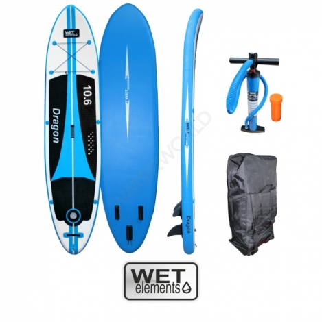 WET-Elements SUP Dragon 10.6 (inkl. Pumpe, Packsack & Reparaturset)