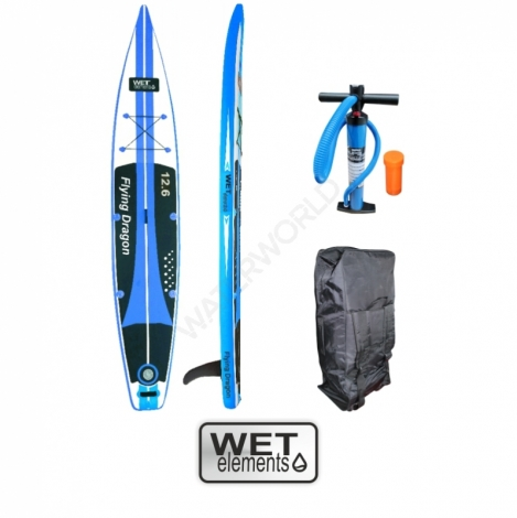 WET-Elements SUP Flying Dragon 12.6  (inkl. Pumpe, Packsack & Reparaturset)