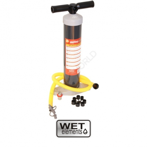 WET-Elements SUP-Hochdruckpumpe bis 1,0 Bar mit Universal-Adapter (optional Druckkontrolle)