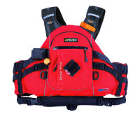 Tahe-Outdoors Artistic Schwimmweste Orco Pro - rot -...