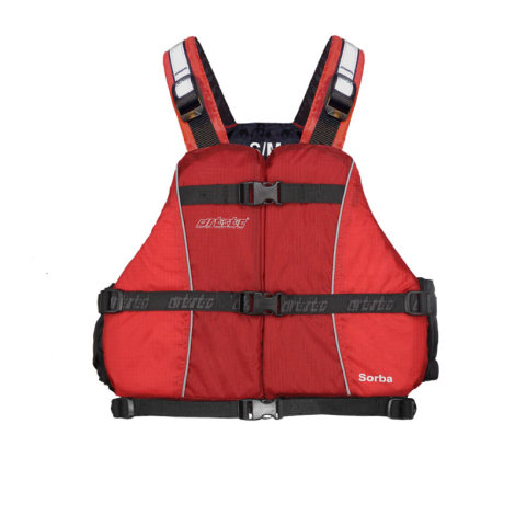 Tahe-Outdoors Artistic Schwimmweste Sorba - rot - xl/xxl (über 70 kg)