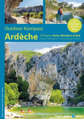 Outdoor Kompass Ardèche - Thomas-Kettler-Verlag